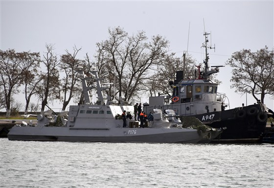 Ukraine declares martial law after Russian naval attack