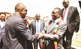 Zimbabwe is under Western sanctions for nearly 20 years