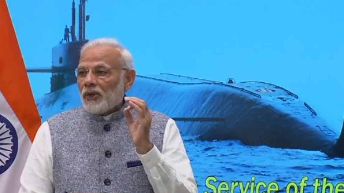 India has 'nuclear triad' and submarine INS Arihant is 'warning to enemies', says PM Modi