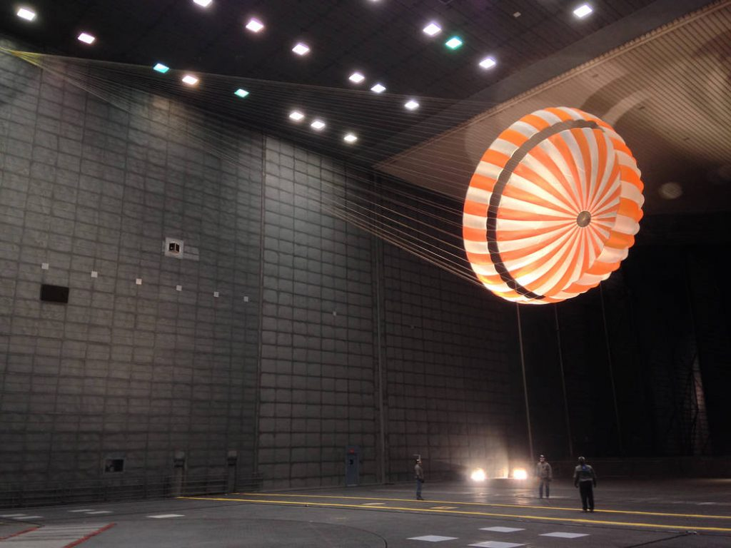 Parachute Testing for NASA's InSight Mission