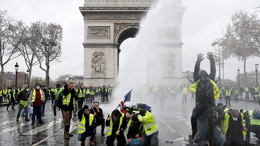 What are the 'gilets jaunes' so upset about?