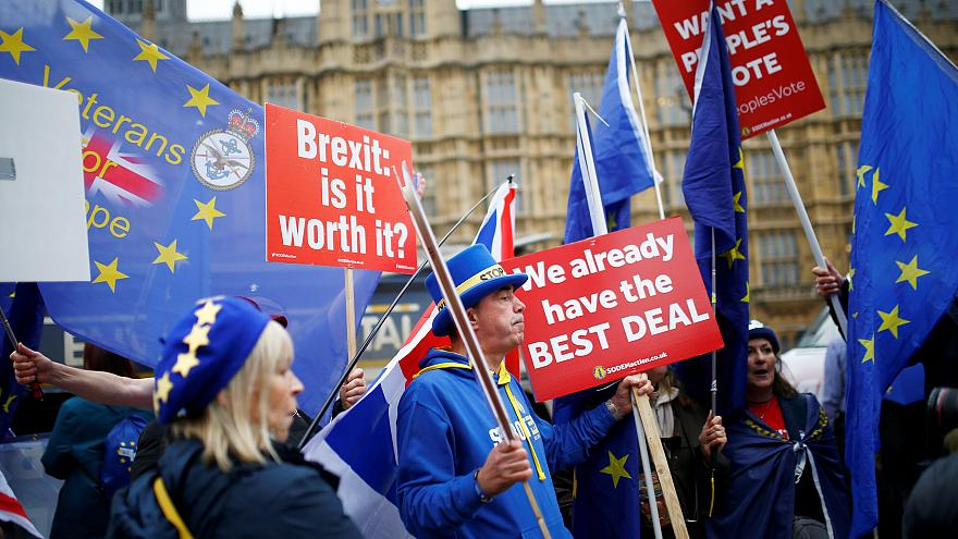 Brexit debate day three in UK parliament