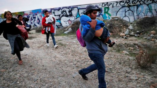 Most illegal immigration doesn't come through the Mexican border where Trump wants to build his wall