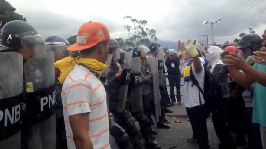 Venezuela violence: UN says at least 40 killed and 850 detained in recent unrest