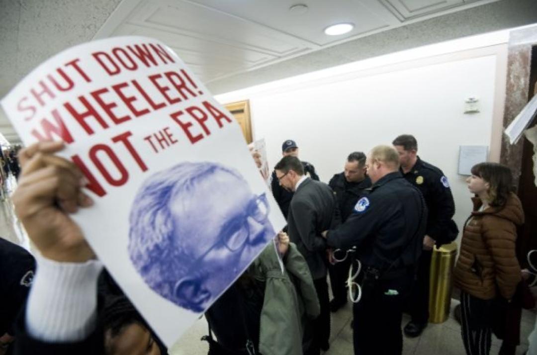 Senators grill EPA nominee Wheeler over climate policies