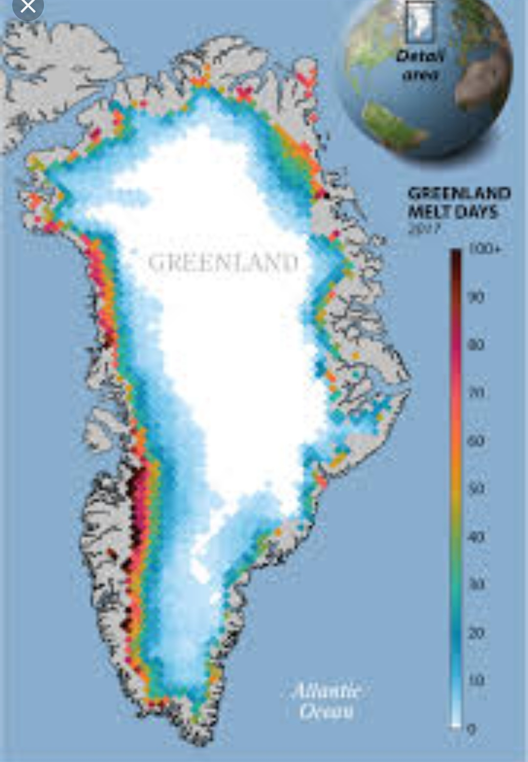 The only thing we can do is adapt': Greenland ice melt reaching 'tipping point,' study finds
