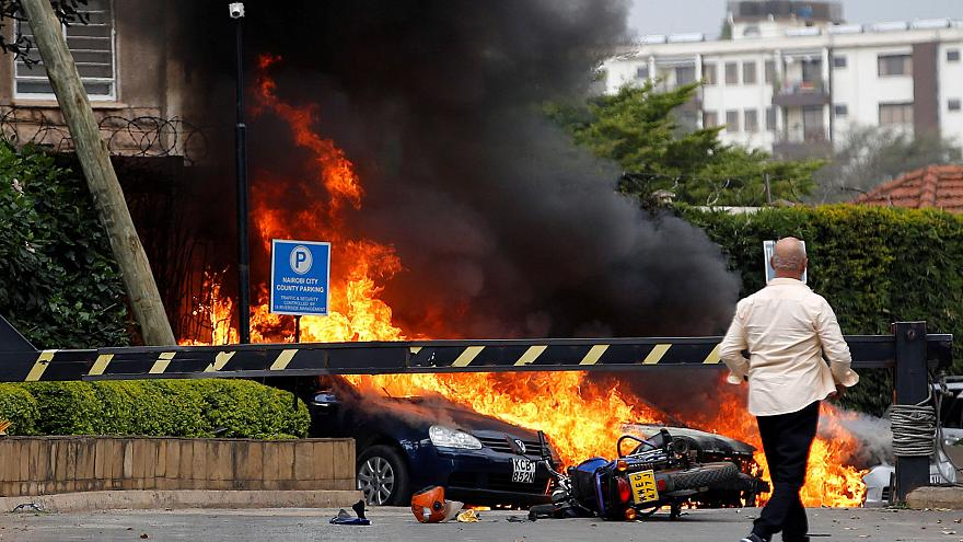 Upscale hotel and office complex in Kenya is 'under attack'