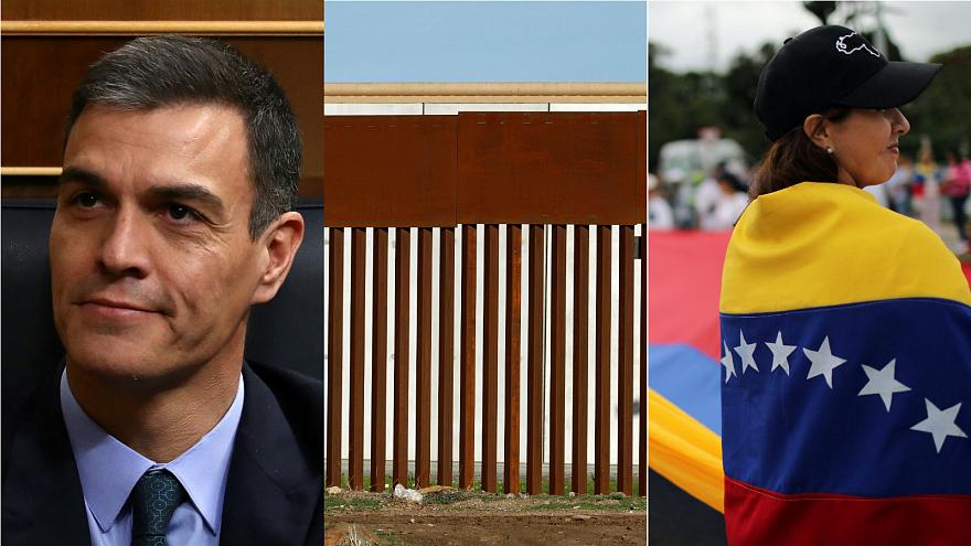 Live: Spain braces for snap election, Trump to declare emergency over wall, Venezuela crisis
