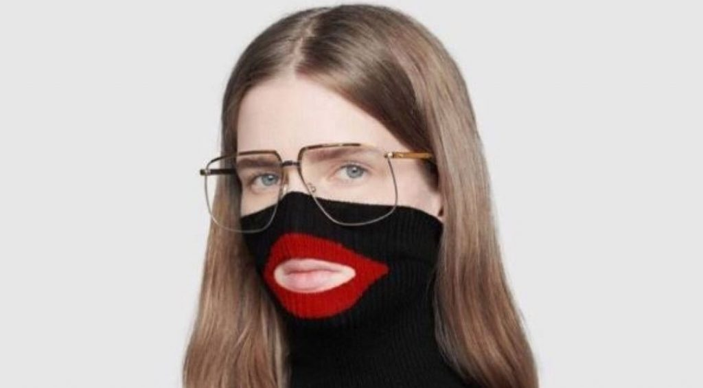 Gucci apologises for women's jumper that 'resembles blackface'