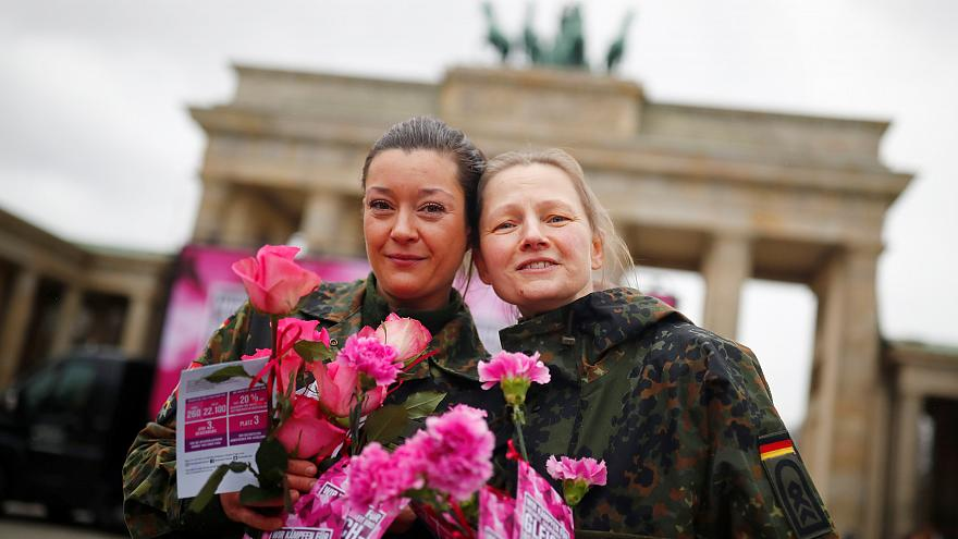How is Europe marking International Women's Day?
