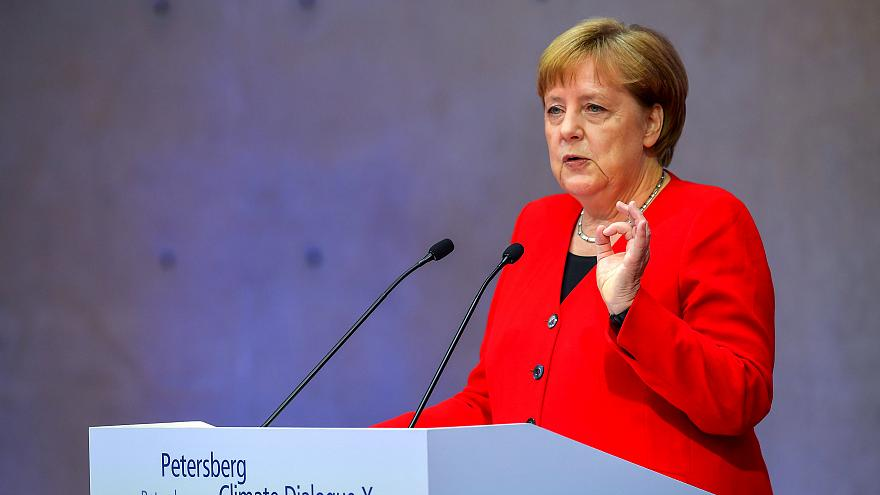 Climate change: Merkel vows to make Germany CO2 neutral by 2050