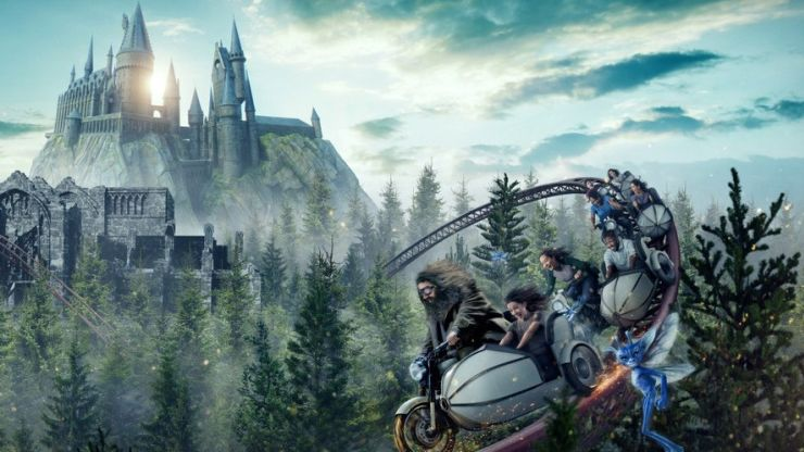 10-hour wait: New $300 million Harry Potter coaster opens at Universal in Orlando to massive crowds
