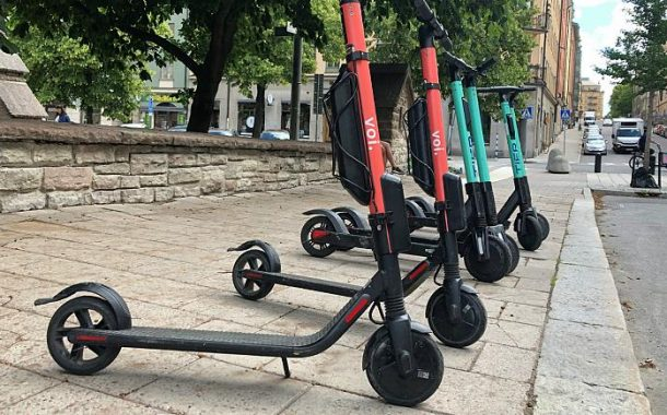 Danish police arrest dozens in two days for riding electronic scooters while intoxicated