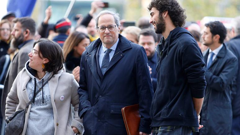 Spanish court to rule on Catalan leader Quim Torra's 'disobedience' charges