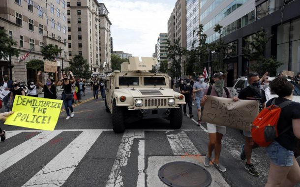 Amid US protests, Pentagon officials on edge over military leaders' dealings with Trump