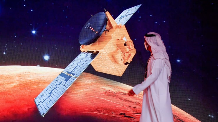 The UAE successfully launches Mars probe, making history for the Arab world