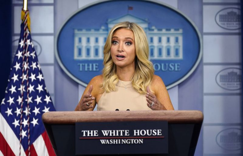 Trump's reading prowess questioned further after press secretary Kayleigh McEnany insists, 'The president does read'