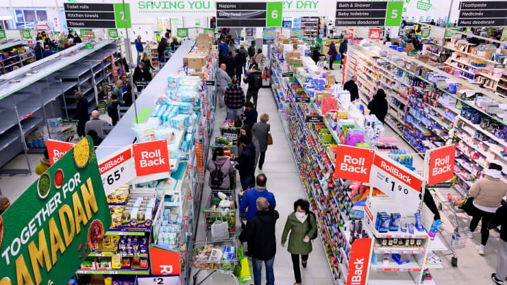British stores stockpile food on Brexit no-deal concerns — but shoppers urged not to panic buy