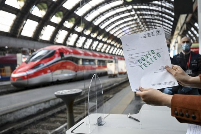 Italy's green pass 'will be valid for US and UK visitors'