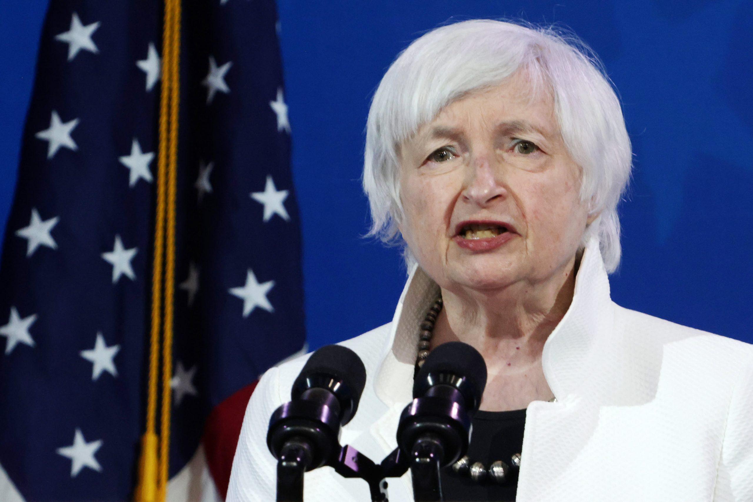 Treasury Secretary Yellen says rates may have to rise somewhat to keep economy from overheating