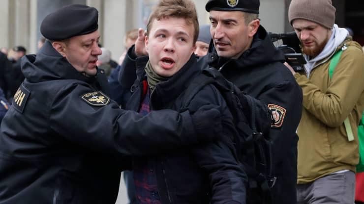Biden administration slaps sanctions on Belarus after it forcibly diverted passenger jet to arrest opposition journalist